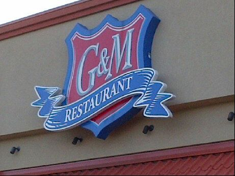 G&M Restaurant / made with heaps of jumbo lump crab, a pinch of hot spice, an very little filler, a single crab cake from the ultra-popular eatery is enough for a meal.  Can order online and bake it yourself.