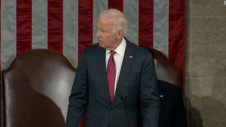 Vice President Joe Biden presided over a joint session of Congress Friday, where members officially tallied electoral votes from the 2016 presidential election. President-elect Donald Trump's 304 electoral votes weren't counted without incident, however. During the course of the certification, House Democrats tried to object to electoral votes from multiples states, with Biden gaveling them down for failure to follow the rules.