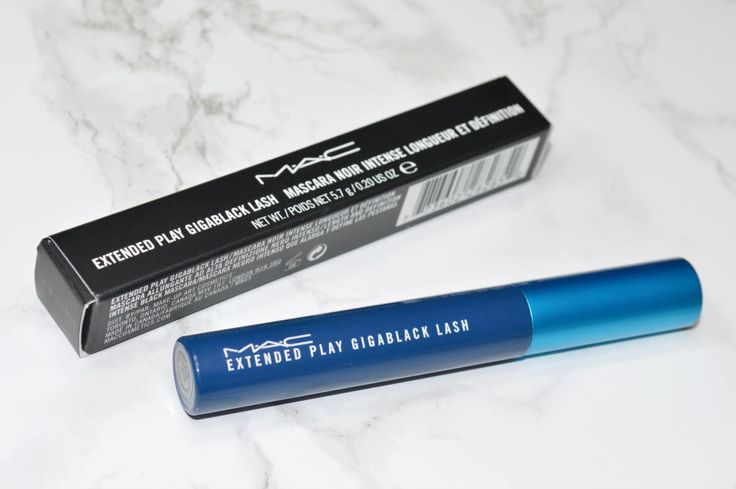 MAC Extended Play Gigablack Lash Mascara Review