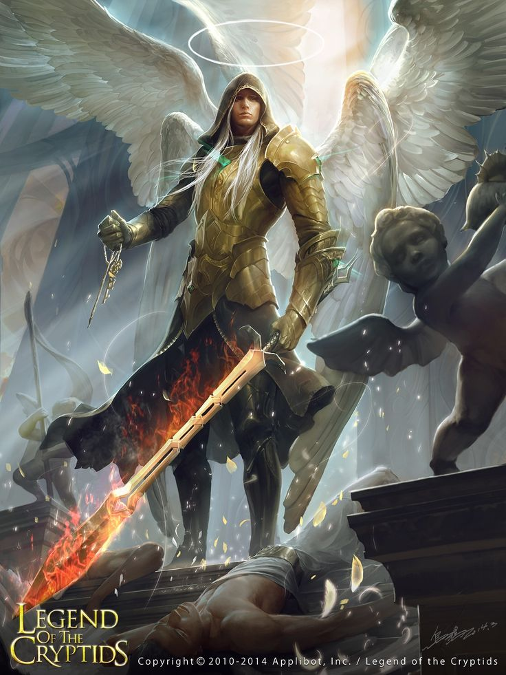Lucifer, regular - Legend of the Cryptids character concept by Xu