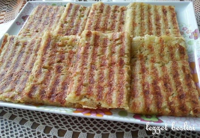 LEZZETBEŞLİSİ-denenmiş resimli yemek tarifleri: Patates Tostu