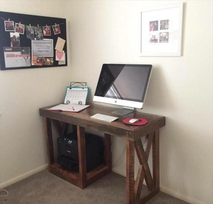 20 top diy computer desk plans that really work for your home office diy l