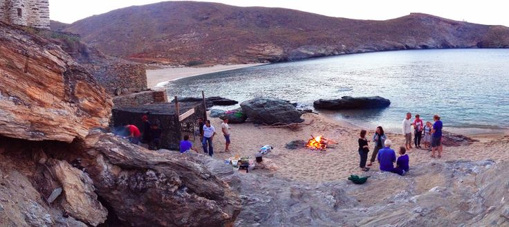 BBQ time!! @Onar, Andros 2014