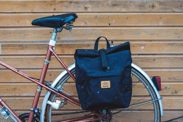 Rolltop pannier bag/backpack | bicycle accessories | bicycle bag | gift for cyclist | bike bag | bike backpack by Velotton on Etsy https://www.etsy.com/listing/251343125/rolltop-pannier-bagbackpack-bicycle