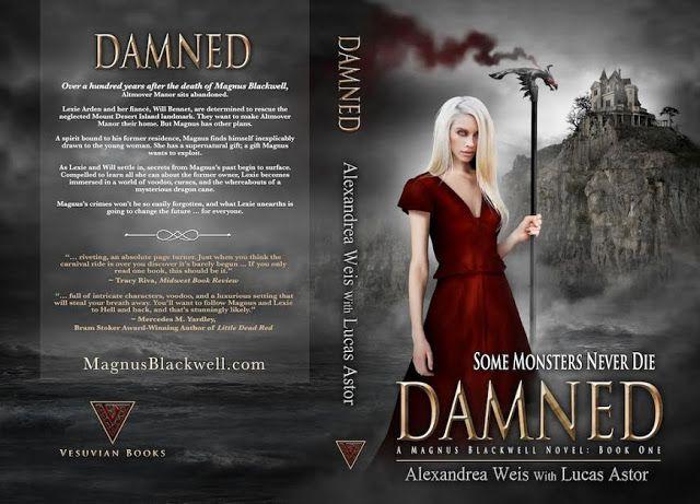 Sinfonia dos Livros: Cover Reveal | Damned | Alexandrea Weis & Lucas As...