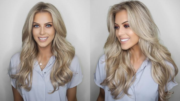 Big, Voluminous, Hollywood Hair   InStyler Tutorial   Chloe Boucher - YouTube