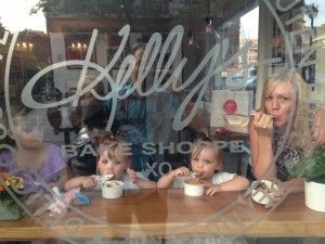 Loving the view…..Kelly's Bake Shoppe