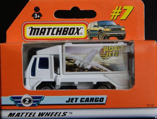 Model Matchbox Jet Cargo