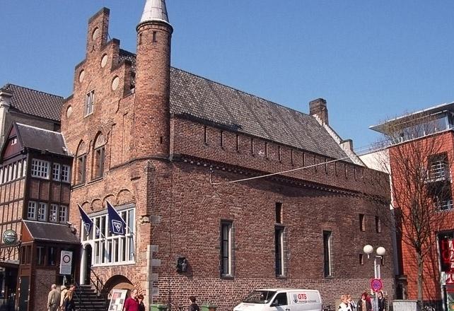 Oud gebouw modern en strak van binnen