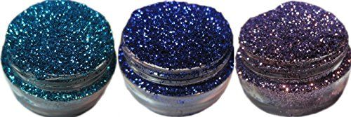 Lumikki Cosmetics Trio Set of 3 Glitters For Eyeshadow  Eye Shadow  Eyes  Face  Lips  Nails Makeup  Compare to NYX  Shimmer Makeup Powder  Holographic Cosmetic Loose Glitter Trio 8 ** Continue to the product at the image link.