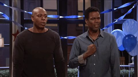 New trendy GIF/ Giphy. snl oh my god sarcastic dave chapelle. Let like/ repin/ follow @cutephonecases