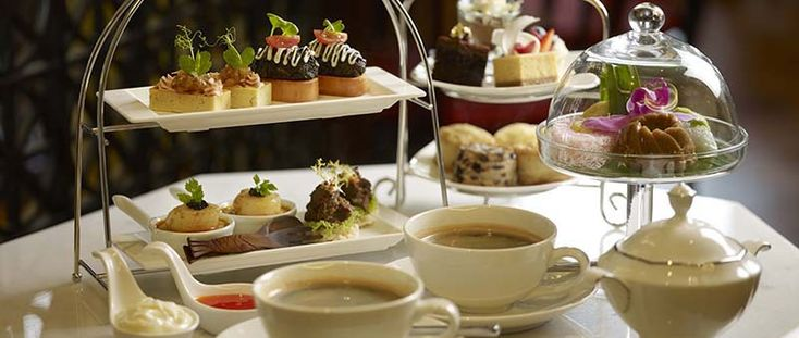 Etiquette for Traditional Tea Service.