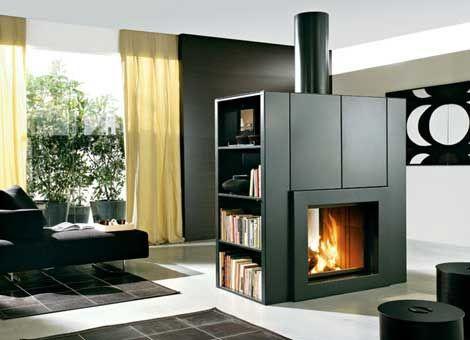 Edilkamin modern fireplace