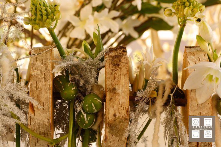 Kerst inspiratie gemaakt door bloembindster Daphne Pelgrim