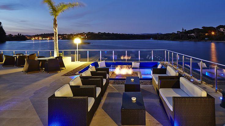 Casa do Lago Restaurant Terrace - Quinta do Lago, Algarve