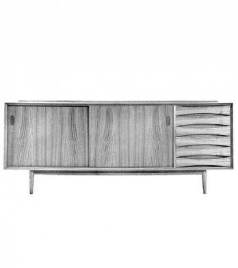 V-Form série Paola – dressoir - sideboard P220_V-Form, 1959
