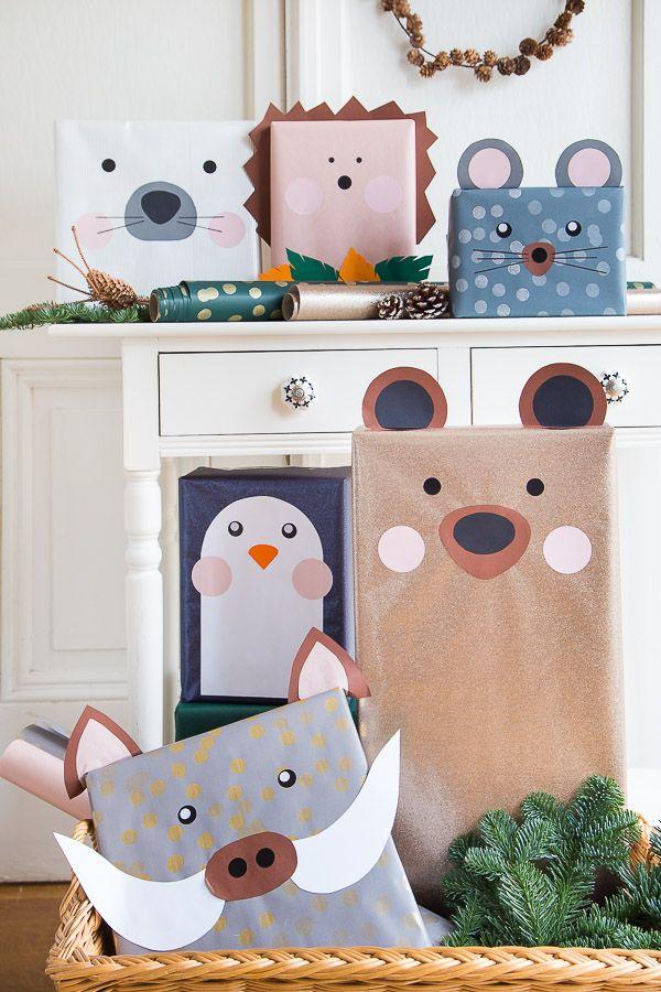 #Weihnachtsgeschenke kreativ verpacken #giftwrappi…
