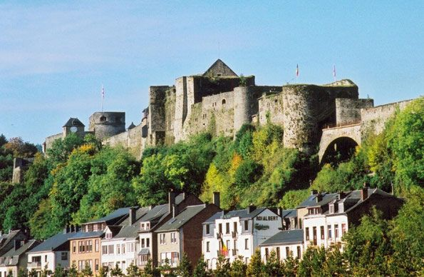 Bouillon Castle and Fort is in Luxembourg Province in the south of Belgium. It's great to visit with kids--falconry, summer festivals, medieval guides, etc.