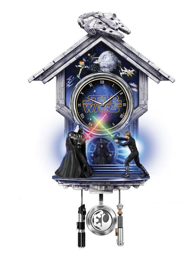 The Star Wars Cuckoo Clock Is A Super Practical Purchase