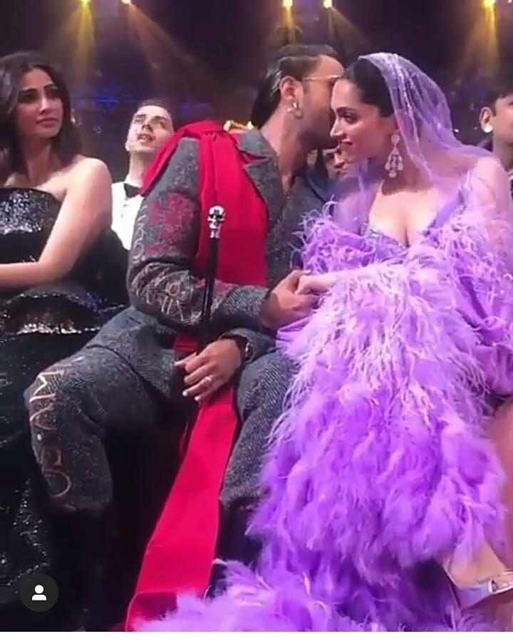Watch Deepika Padukone And Ranveer Singh Displayed Most Scintillating Chemistry At The Iifa2019 And We Are Melting Hungryboo Ranveer Singh Deepika Padukone Rekha Actress