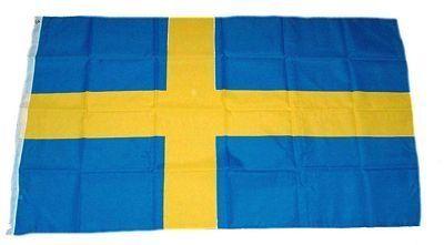 Fahne / Flagge Schweden NEU 90 x 150 cm Flaggen von FahnenMax®, http://www.amazon.de/dp/B00194662C/ref=cm_sw_r_pi_dp_zjlLsb1YPCQAD