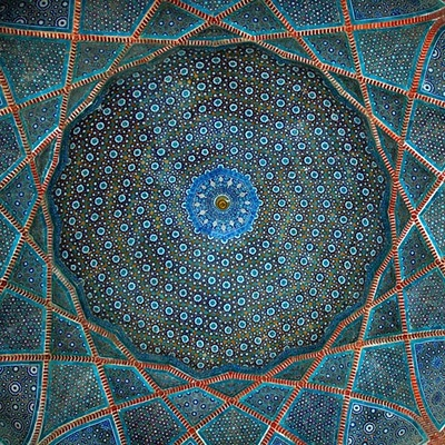 One of the Domes of Shah Jehan Mosque (Thatta)