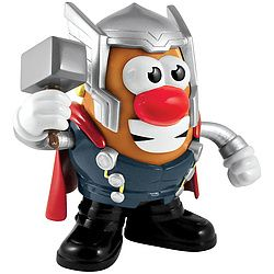 The classic toy morphs into a popular Marvel superhero!