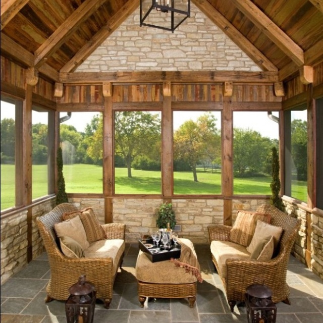 225 best images about porches sun rooms a gathering for Cedar sunroom