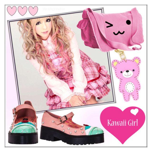 Kawaii Girl! by whirlypath on Polyvore featuring cutekawaii