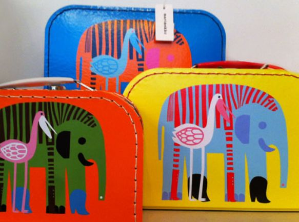 Fun & Funky Play storage cases for all your little ones bits & bobs from Marimekko, they will always cheer you up!