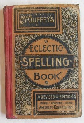 1920's McGuffey's Electric Spelling Book http://ajaxallpurpose.blogspot.com/search/label/vintage%20art%20supplies