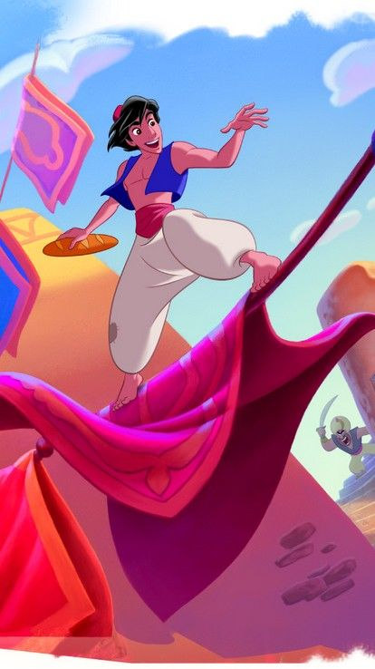 Did you know the magic carpet is actually a hybrid of hand-drawn and computer animation? | Aladdin out for the first time on Digital HD & Disney Movies Anywhere 9/29; Blu-ray 10/13
