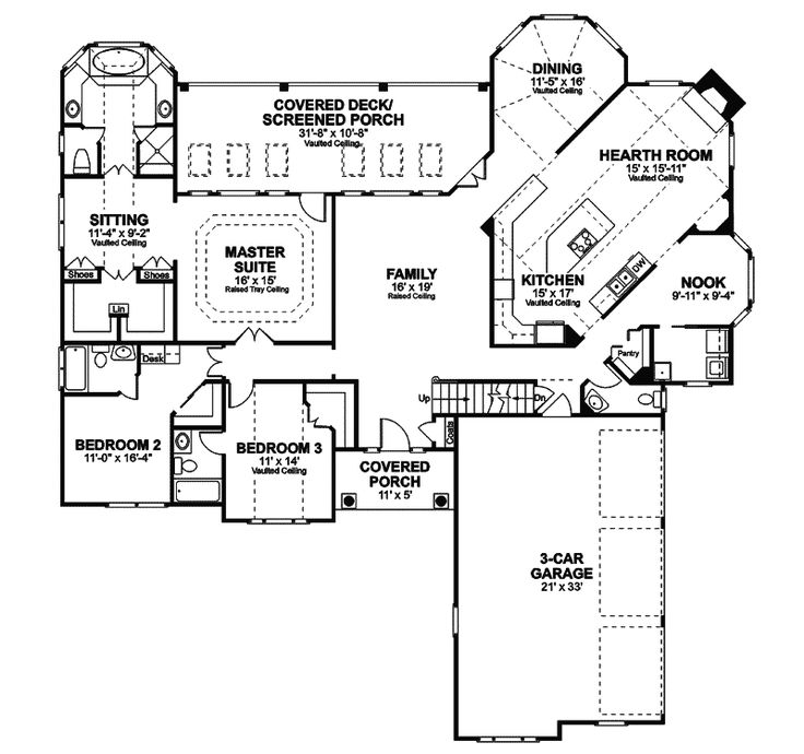 Selkirk Country French Home European House Plans House