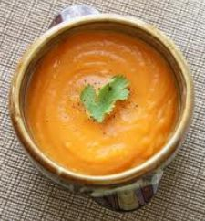 Savory Fall Sweet Potato Soup | grub | Pinterest