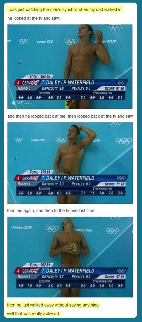Awkward moment… sorry but that was waaay to funny.