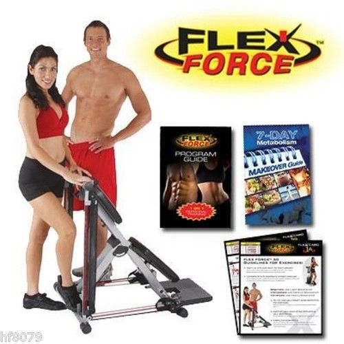 Flex force full body chair gym 50 in 1 workout system the total gym of