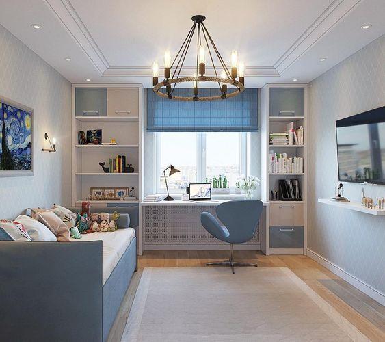 Guardería; Decoración de la casa; Habitación pequeña; Murales; Diseño de interiores; Li