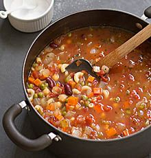 Simple, Satisfying Minestrone Soup recipe