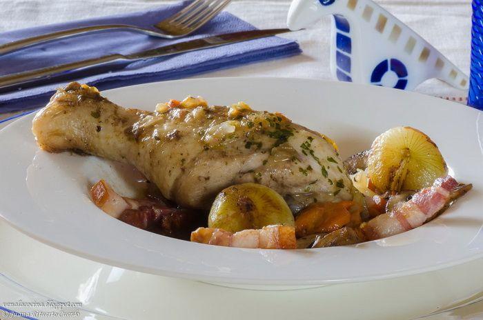 Pollo braseado - Maldito Insolente