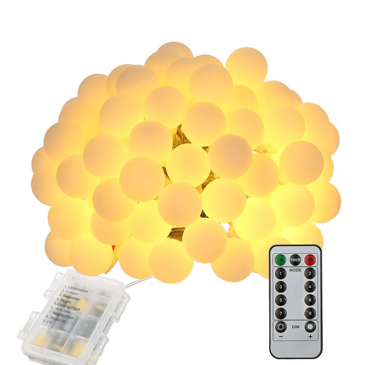 Tomshine String Light 0.6W 10M/32.8Ft 80LEDs Battery Powered Sales Online - Tomtop.com