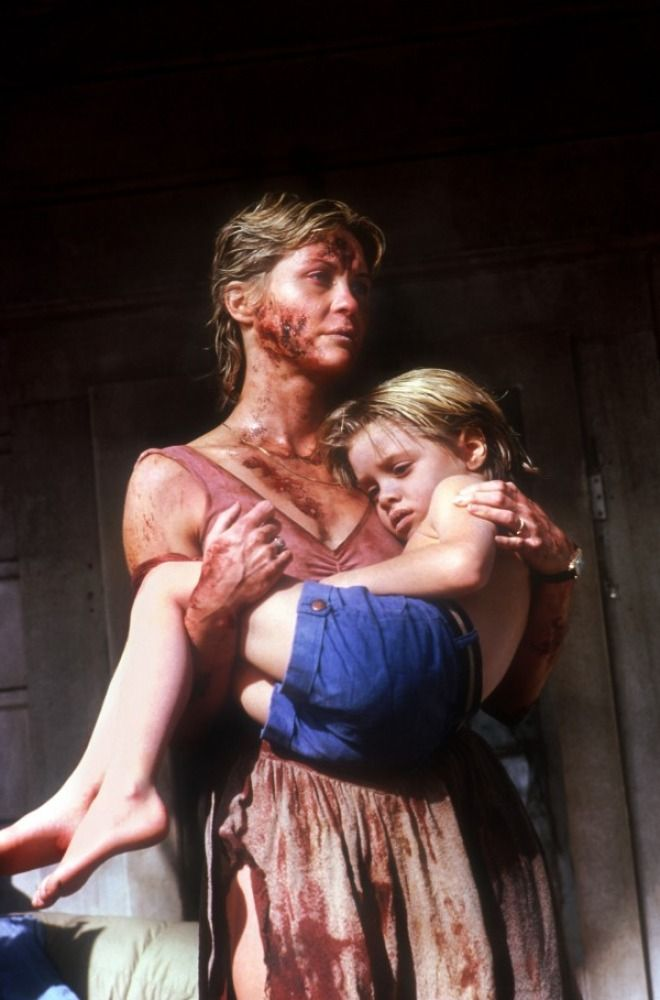 """Dee Wallace and young Danny Pintauro in Stephen King's """"Cujo"""""""