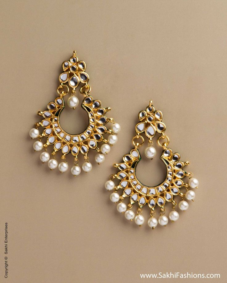 Kundan Earring, Sakhifashions, glamour, indian fashion, trendy