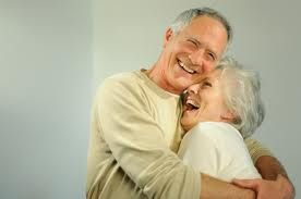 lovely couple can be found on mature dating sites