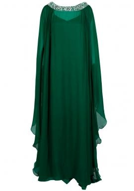 Emerald Green Kaftan <3