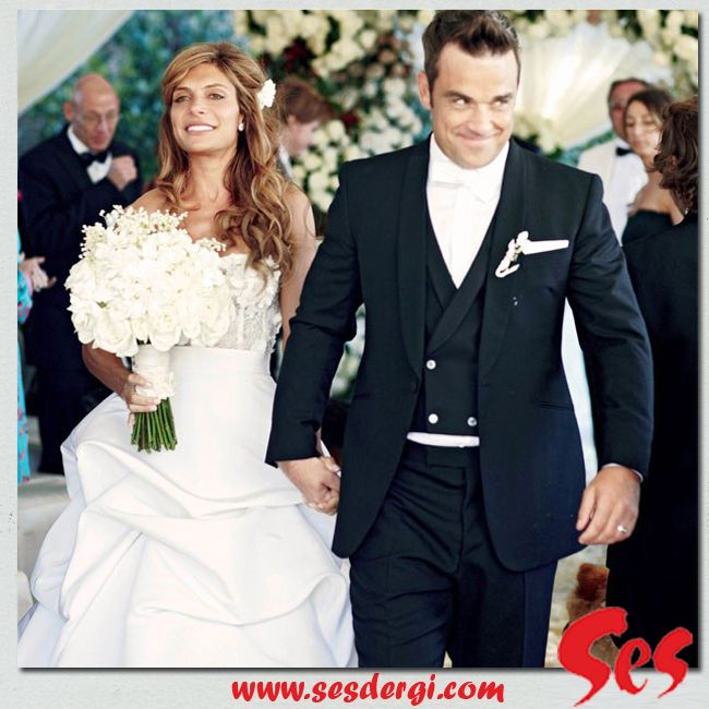 Ayda robbie wedding