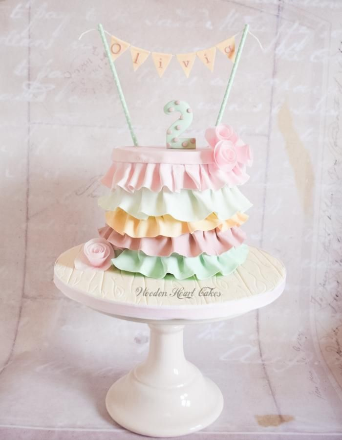 Ruffles & Pastels by Wooden Heart Cakes