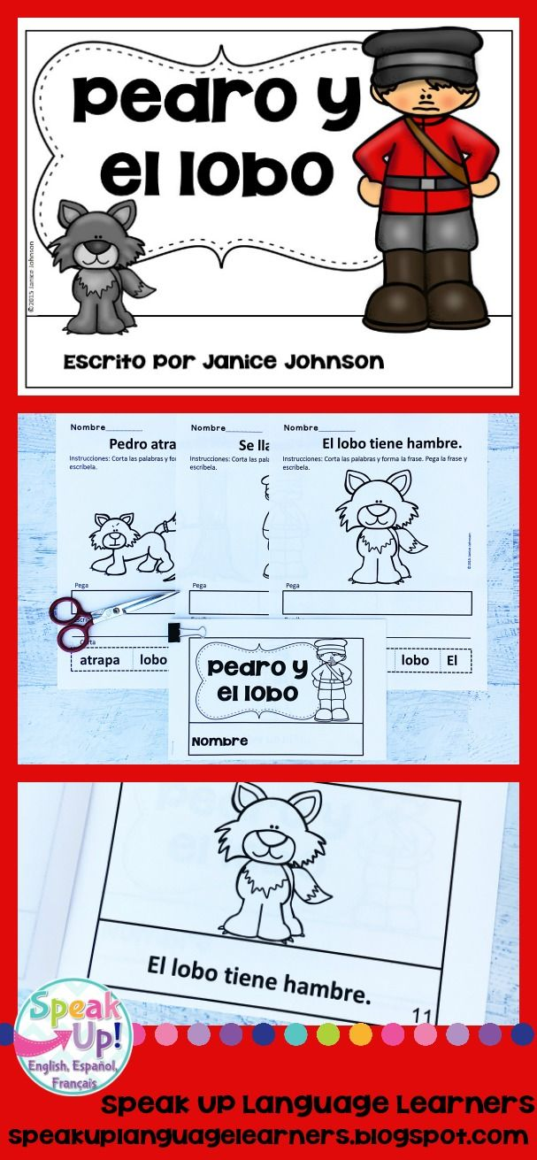 Pedro y el lobo Spanish Peter & the Wolf Reader ~ Simplified for Language Learners