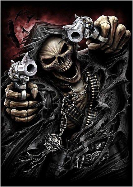 skeletons & death riders