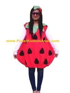 Jual Kostum Anak Strawberry Untuk Ukuran Balita dan Dewasa http://pusatkostumanak.com/jual-kostum-anak-strowberry.html #jual #kostum #anak #strawberry