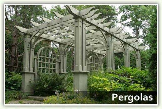 44 best japanese trellis pergola images on pinterest terraces pergola designs and pergola ideas - Leroy merlin arbor ...